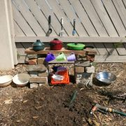 No more mud kitchens…